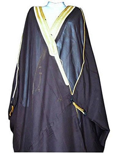 Desert Dress Black Bisht Cloak Arab Dres