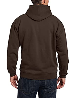 Arborwear Men's Double Thick Full Zip Sweatshirt, Chestnut, Large