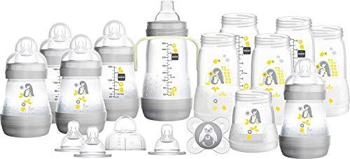 Easy Start Set - MAM Easy Start Self Sterilising Anti-Colic Bottle Starter Set - Large 17 Pieces Set