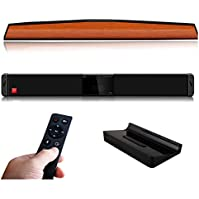 KEJEE HIFI 3D Home Sound Bar Bass Subwoofer 33 Inch with Touchable Function Screen Bluetooth Optical AUX AV USB...