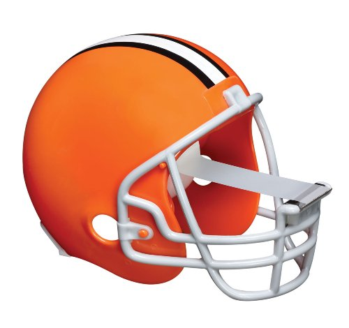 Scotch Magic Tape Dispenser, Cleveland Browns Football Helmet with 1 Roll of 3/4 x 350 Inches Tape