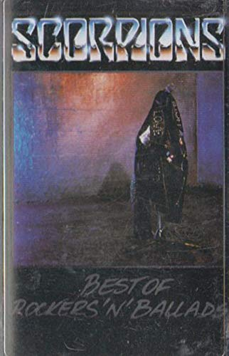 Scorpions: Best of Rockers 'N' Ballads Cassette Tape