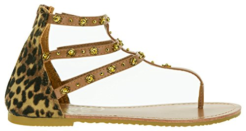 avec Chaussures Beppi Brun Plates Casual Sandales Sandales Brun Mode Sandales Femmes Zip Cuir d'été Bohème Femmes 41 36 Été rtZ8wqSt