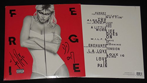 Fergie Autographed LP Vinyl Album (Double Dutchess) - Rare Red Album Cover!