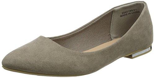 New Look Women's Kounting Flats Brown (Light Brown 21) sAidOb