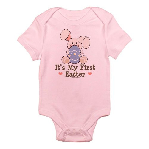 'It's My First Easter' Onesie with Bunny and Painted Egg