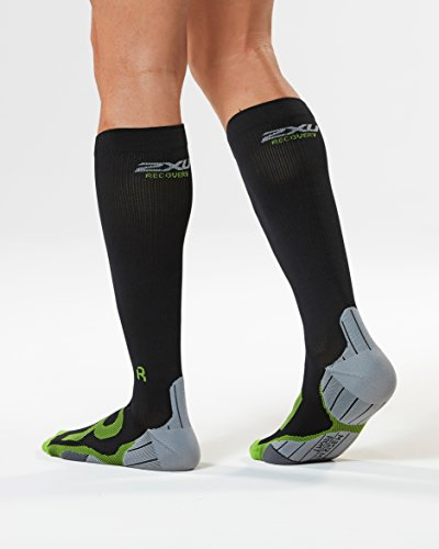 2xu Calcetines Recovery Gris For Ma4423 Compression Negro Hombre OxO4gAq