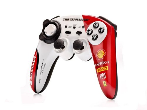 Guillemot Thrustmaster Ferrari - Thrustmaster F1 Wireless Gamepad Ferrari 150th Ltalia Alonso Edition