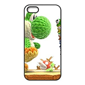 iphone5 5s case (TPU), woolly yoshi Cell phone case Black for iphone5 5s - FGHJ8975288
