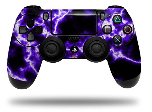 Vinyl Skin Wrap for Sony PS4 Dualshock Controller Electrify Purple (CONTROLLER NOT ()