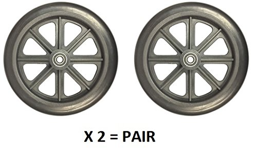 FRONT WHEEL 8'' (Pair) FOR Nova 5060H/5080H/5090H SERIES WHEELCHAIR (SN: YU)