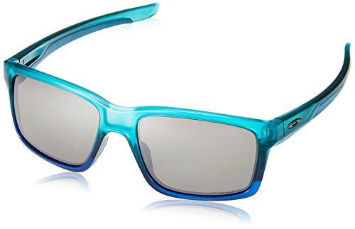 Oakley Men's Holbrook Polarized Iridium Square Sunglasses, Matte Black, 57.0 mm