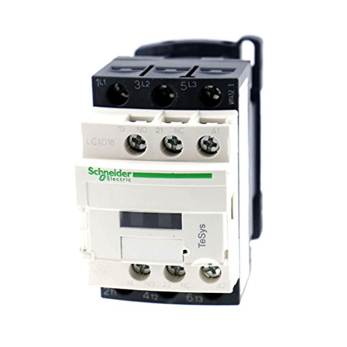 Baomain LC1D18 Motor Control AC Contactor 220V 50/60Hz Coil 32 Amp 3 Phase (Coil 220)