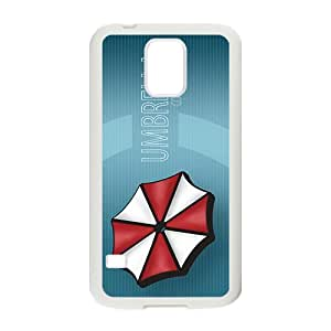 video games s Resident Evil Umbrella Corp logos Phone case for Samsung galaxy s 5