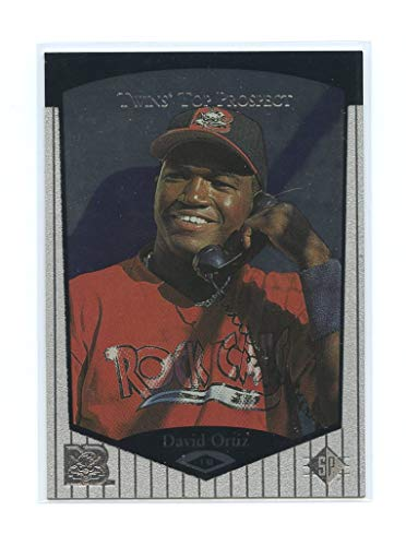 (1998 Upper Deck SP Top Prospects #75 David Ortiz Boston Red Sox Rookie Card- Mint Condition Ships in New Holder - Mint Condition Ships in Brand New Holder)