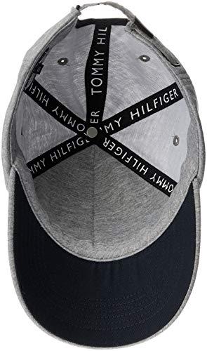 Homme Logo Bleu Marine H Tommy Casquette Gris Jeans Pour Grise t8xZq