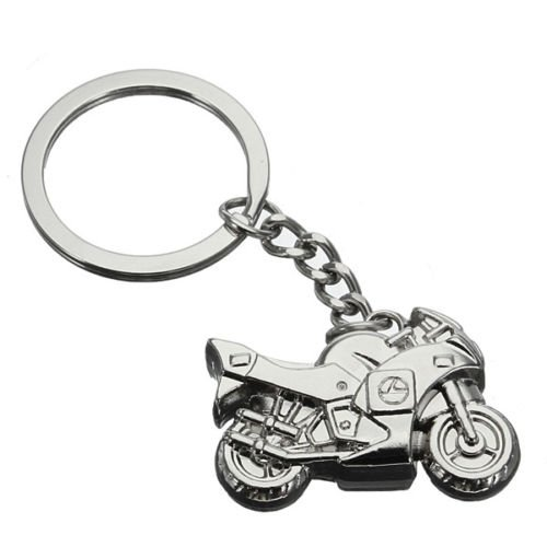 Motmorcycle Motorbike Metal Keyring Keychain - Hong Of Legends India Kong
