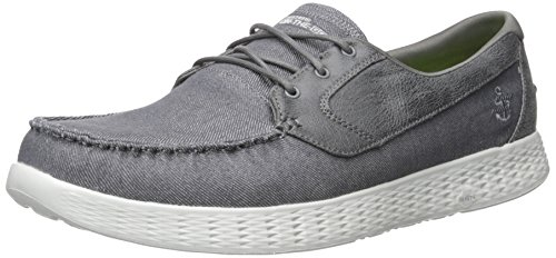 Skechers On The Go Glide Charcoal 53770CHAR, Chaussures bateau