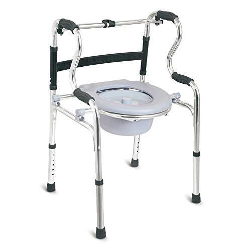 KosmoCare Premium Imported Lightweight Multipurpose Walker with Detachable Commode