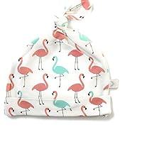 Bestaroo Baby Girls Hat in Flamingo Print