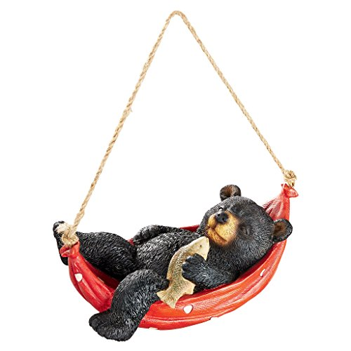 Design Toscano Summer Snooze Black Bear Statue Review