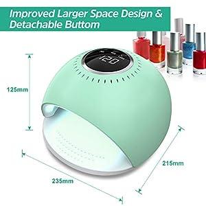 AQSURE Nail Dryer (green) (Color: green)