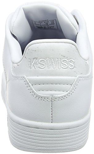 Sneakers Swiss Gray Blanc Basses Court K Femme Marble Clean White CMF dIxFqCz
