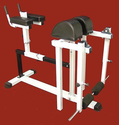 Lower-Back-Extension-Machine