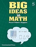 Math Workbook: Big Ideas in Math, Grade 5 Student Workbook