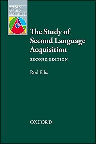 understanding second language acquisition rod ellis free pdf