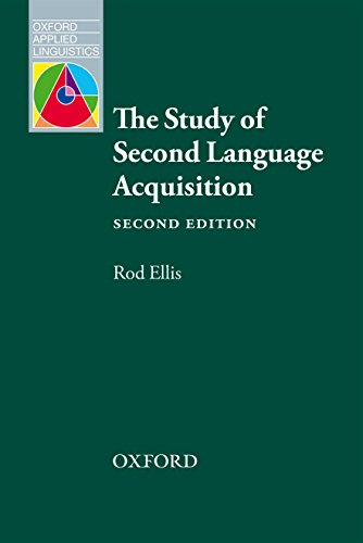 The Study of Second Language Acquisition