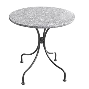 Greemotion Bari 416543 Granite Table Round 70 x 72 cm