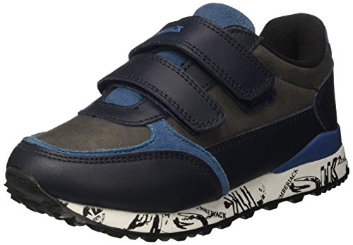 Lumberjack Jungen Sb37005-002m07 Low-Top Blu (Navy Blue)