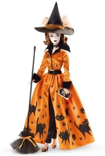 Barbie Doll Fan Club Exclusive Halloween Haunt Gold -