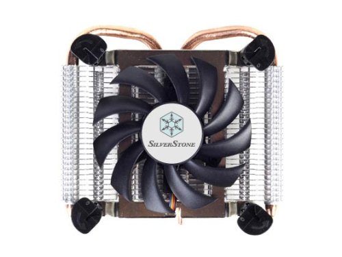 Silverstone Profile Intel Socket LGA115X with 80mm and Copper Pipes