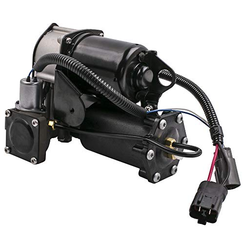 Air Suspension Compressor for Range Rover Sport 2006-2013, Land Rover LR3 2005-2009, LR4 2010-2014 Hitachi Style Air Pump RQG500130