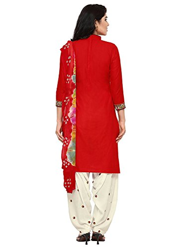 Dream Angel Fashion DreamAngel Women's Cotton Patiala Salwar Suit (Ready Made) (Medium) by Dream Angel Fashion (Image #4)