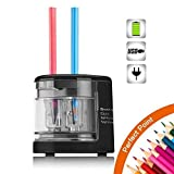 Best Electric Pencil sharpeners - SMARTRO Electric Pencil Sharpener Small Dual-Hole Best USB Review