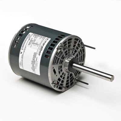 Marathon X422 48Y Frame Open Air Over 48A17O172 Condenser Fan Motor 1/2 hp, 1625 rpm, 460 VAC, 1 Phase, 1 Speed, Ball Bearing, Permanent Split Capacitor, Thru-Bolt (Over Fan Condenser Open Air)