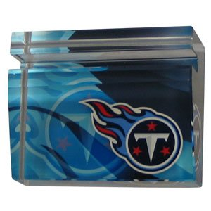 Card Tennessee Titans Nfl Football - Siskiyou NFL Tennessee Titans Crystal Businesss Cardholder