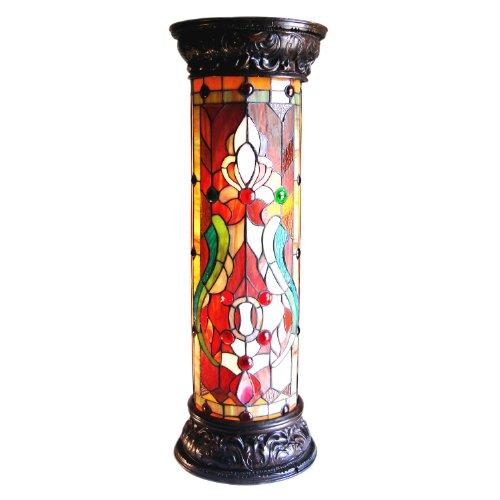 (Chloe Lighting CH30B405PL Victorian Pedestal Floor Lamp)