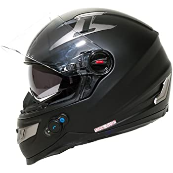 356d51c6 Amazon.com: BILT Techno Bluetooth Full-Face Motorcycle Helmet - XL ...