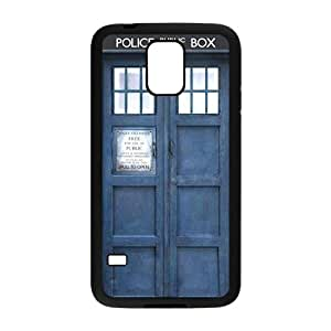 Blue police box Cell Phone Case for Samsung Galaxy S5