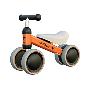 YGJT Baby Walker Toys for 1 Year Old Baby Balance Bikes Ride on Toys for 1 Year Boys Girls 10 Months-24 Months No Foot Pedal Baby's First Bike Baby First Birthday Gift Baby Bicycle
