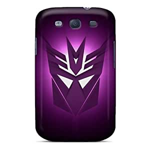 ChristopherWalsh Samsung Galaxy S3 Protective Hard Phone Cover Unique Design Beautiful Decepticons Logo Series [pXN13008ZnvB]