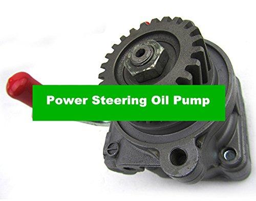 GOWE P/S Power Steering Oil Pump Assembly for Mitsubishi Pajero Montero Shogun V26 V36 V46 4M40 2.8 L Desiel MR267661 (Shogun Short)