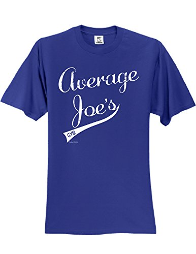Average Joes T-Shirt Slogan Humorous Tee Shirt Royal XXXL