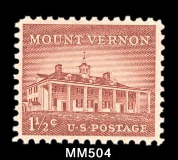 Mystic Stamp Company 50 Horizontal Mounts, Black, Split-Back, Pre-Cut, 30 x 27 millimeters (1-3/16 x 1 inch) - Catalog # MM504