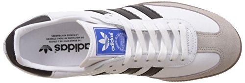 adidas Samba OG, Sneakers Basses Homme Blanc (Footwear White/Core Black/Gum)