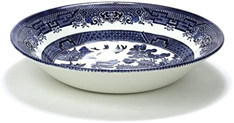 Blue Willow by Churchill Stoneware Coupe Soup Bowl